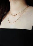 Moonstone V Necklace WHOLESALE