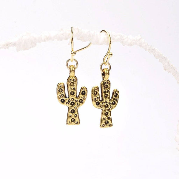 endurance earrings, cactus necklace, golden cactus, brass cactus, cactus designs, happy cactus, modern pendant, fancy earrings, earring making, drop earrings, jewelry earrings, crafting, craft shop, gold accessories