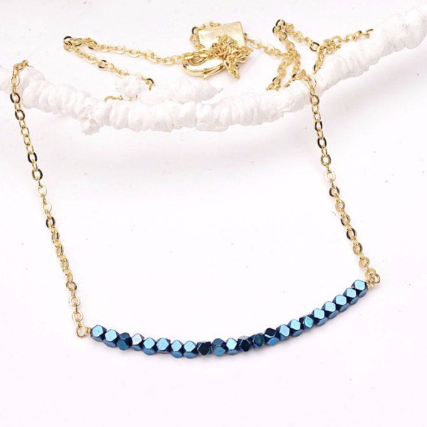 Faceted Blue Hematite Smile WHOLESALE