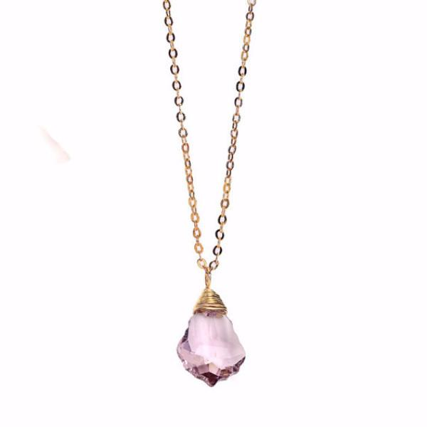 Amethyst Baroque Necklace