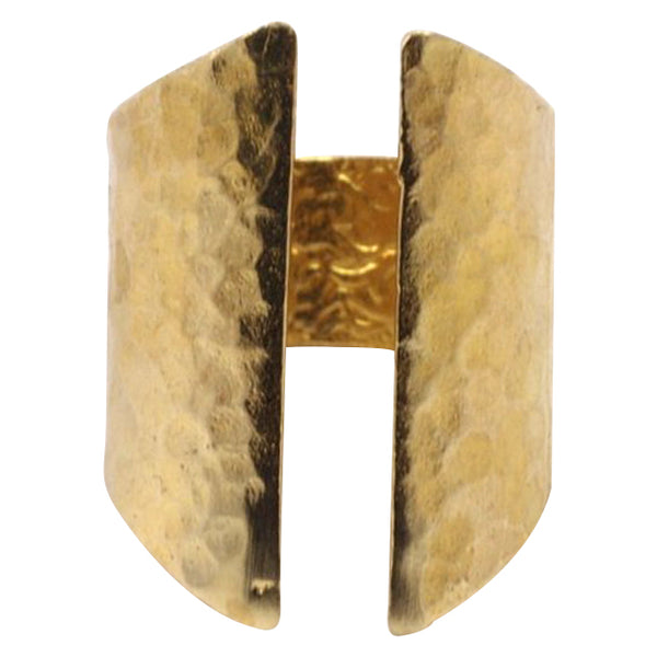 Hammered Gap Ring WHOLESALE