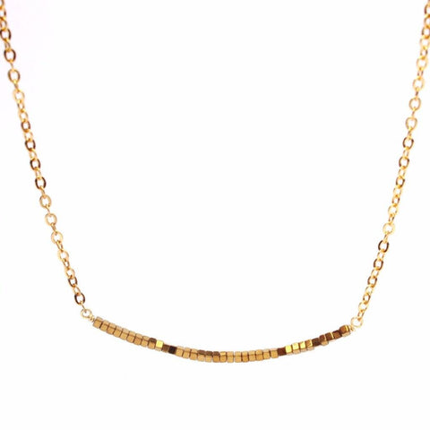 Thin Gold Hematite Smile WHOLESALE