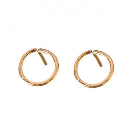 Hammered Circle Stud WHOLESALE