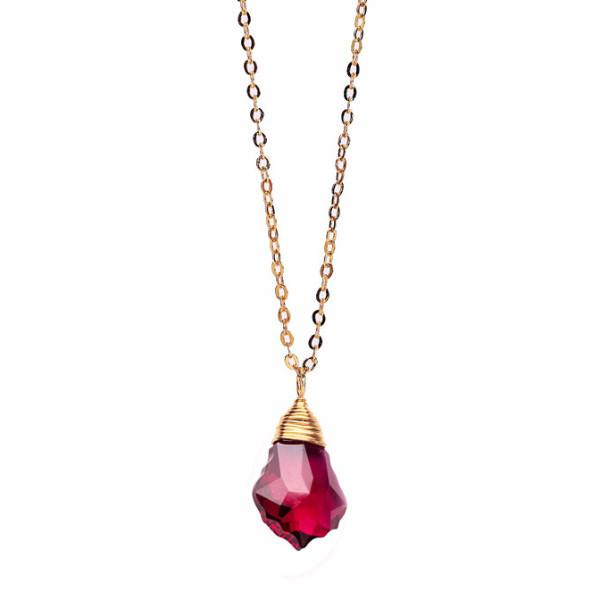 Ruby Baroque Necklace WHOLESALE