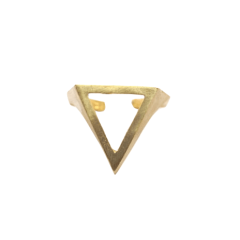 Cutout Triangle Ring WHOLESALE