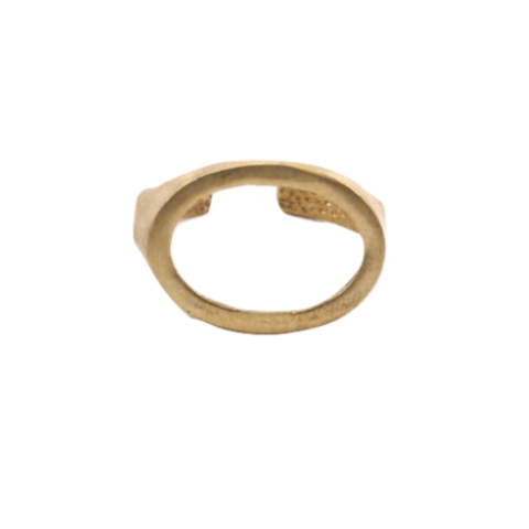 Cutout Oval Ring