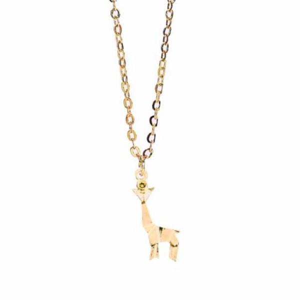 Origami Giraffe Necklace WHOLESALE