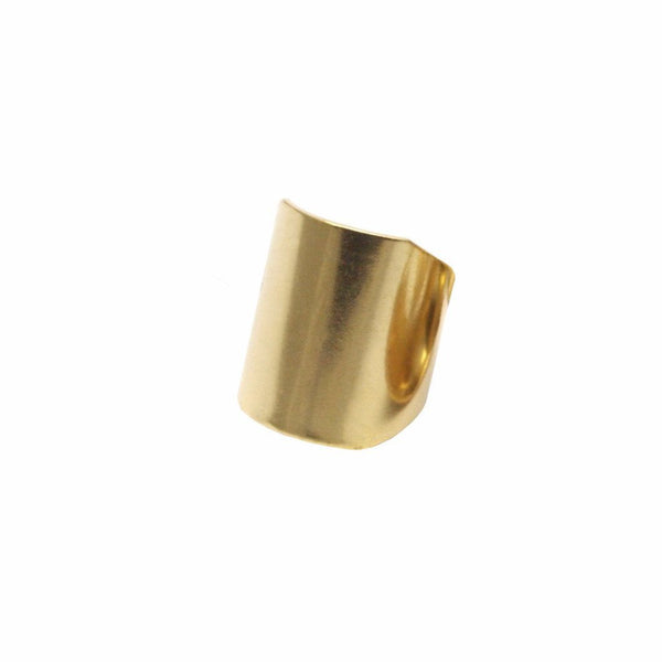 Raw Brass Solid Ring for sale