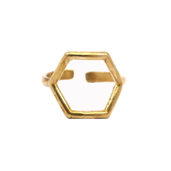Hexagon Mini Ring Wholesale