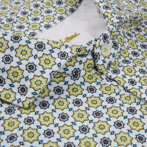 Stenstroms Green Tile Polo Shirt