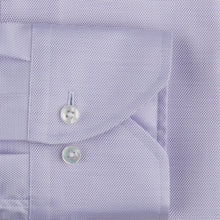 Load image into Gallery viewer, Stenstroms Lavender Textured Fitted Body Shirt