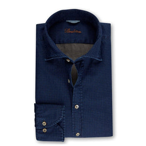 Stenstroms Casual Patterned Fitted Body Shirt