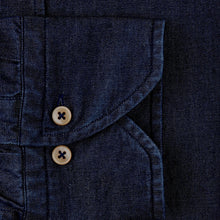 Load image into Gallery viewer, Stenstroms Fitted Body Shirt In Dark Denim
