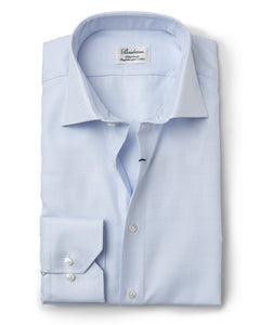 Stenstroms Blue Fitted Body Dress Shirt US Only