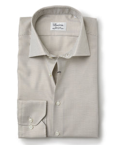 Stenstroms Tan Fitted Body Dress Shirt US Only