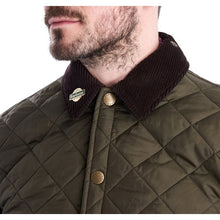 Load image into Gallery viewer, Barbour Mens Icons Liddesdale Jacket - Olive