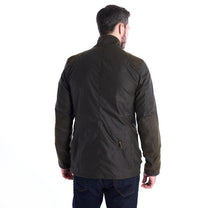 Load image into Gallery viewer, Barbour Icons Beacon Sports Waxed Cotton Jacket - OLIVE