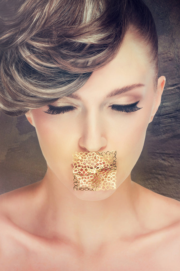 The golden kiss: Mashrabiya collection by Mario Uboldi Jewellery Art