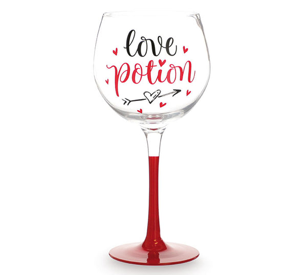 """Love Potion"" Wine Glass"