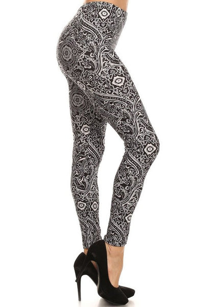 """Transported"" Print Leggings"
