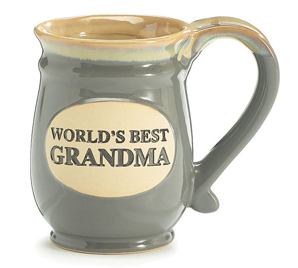WORLD'S BEST GRANDMA PORCELAIN MUG
