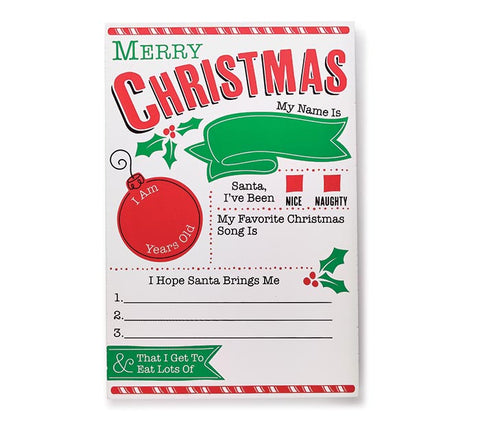 CHRISTMAS SIGN PICTURE PROP FOR KIDS