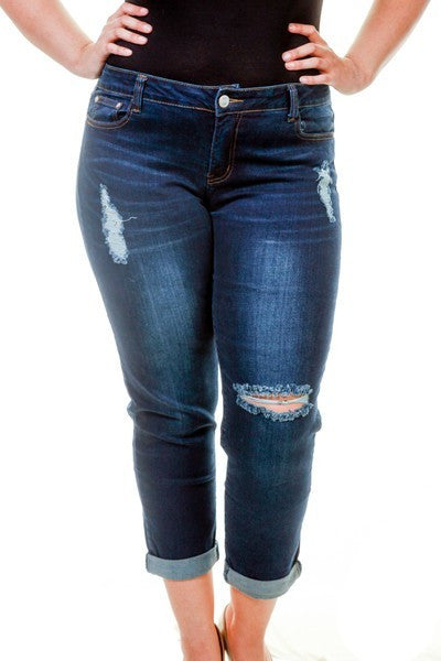 """The Curvy Capri"" Jeans"