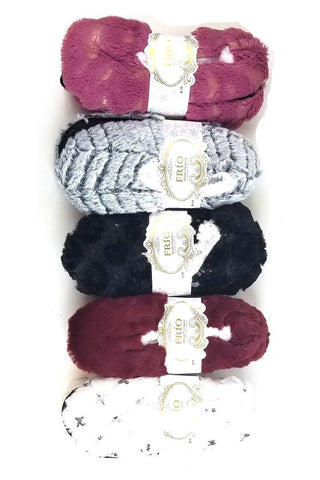 Soft Fur Indoor Slipper Shoes