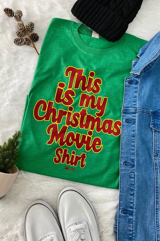 This is my Christmas Movie Tee