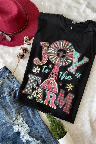 Joy to the Farm Tee