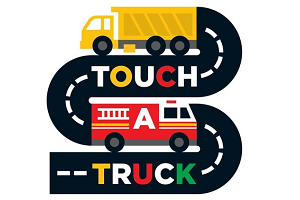 Touch a Truck Playdate on May 13th