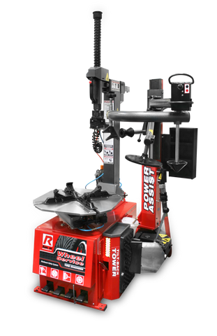 Ranger R76ATR Tilt-Back Tire Changer with Assist Tower