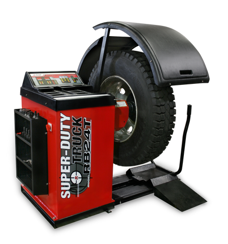 Ranger RB24T Super‐Duty Truck Wheel Balancer with Drive‐Check™ Technology