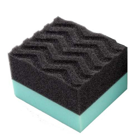 Durafoam Contoured Large Tire Dressing & Protectant Applicator Pad with Wonder Wave