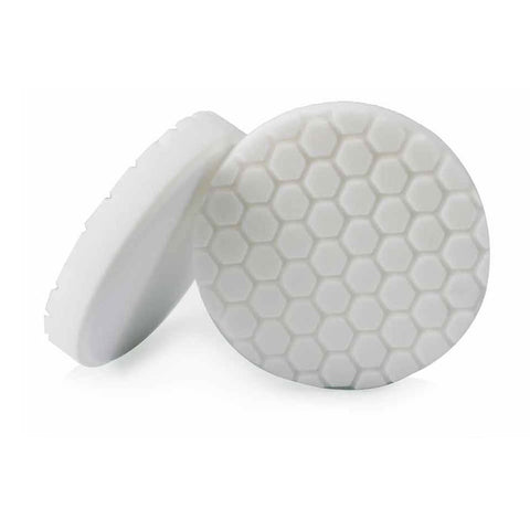 "Hex-Logic Light - Medium Polishing Pad, White (6.5"")"