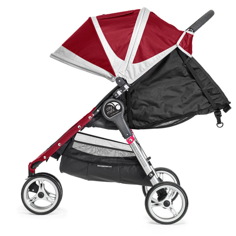 Baby Jogger City Mini Single 3 Wheel (Crimson)