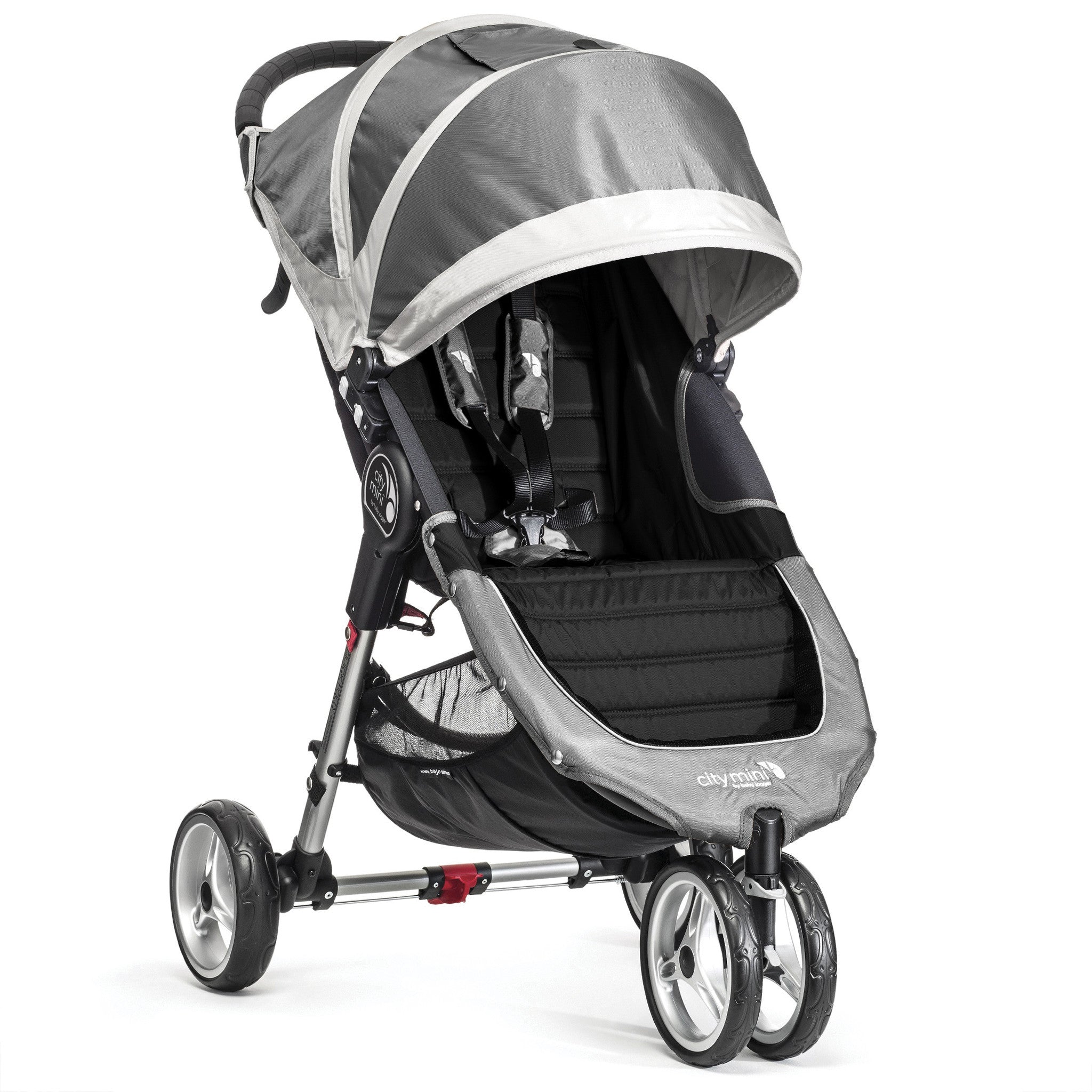 Baby Jogger City Mini Single 3 Wheel (Steel Grey) - Baby Gosling
