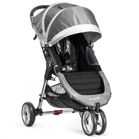 Baby Jogger City Mini Single 3 Wheel (Steel Grey) - Pre Order for May 2017
