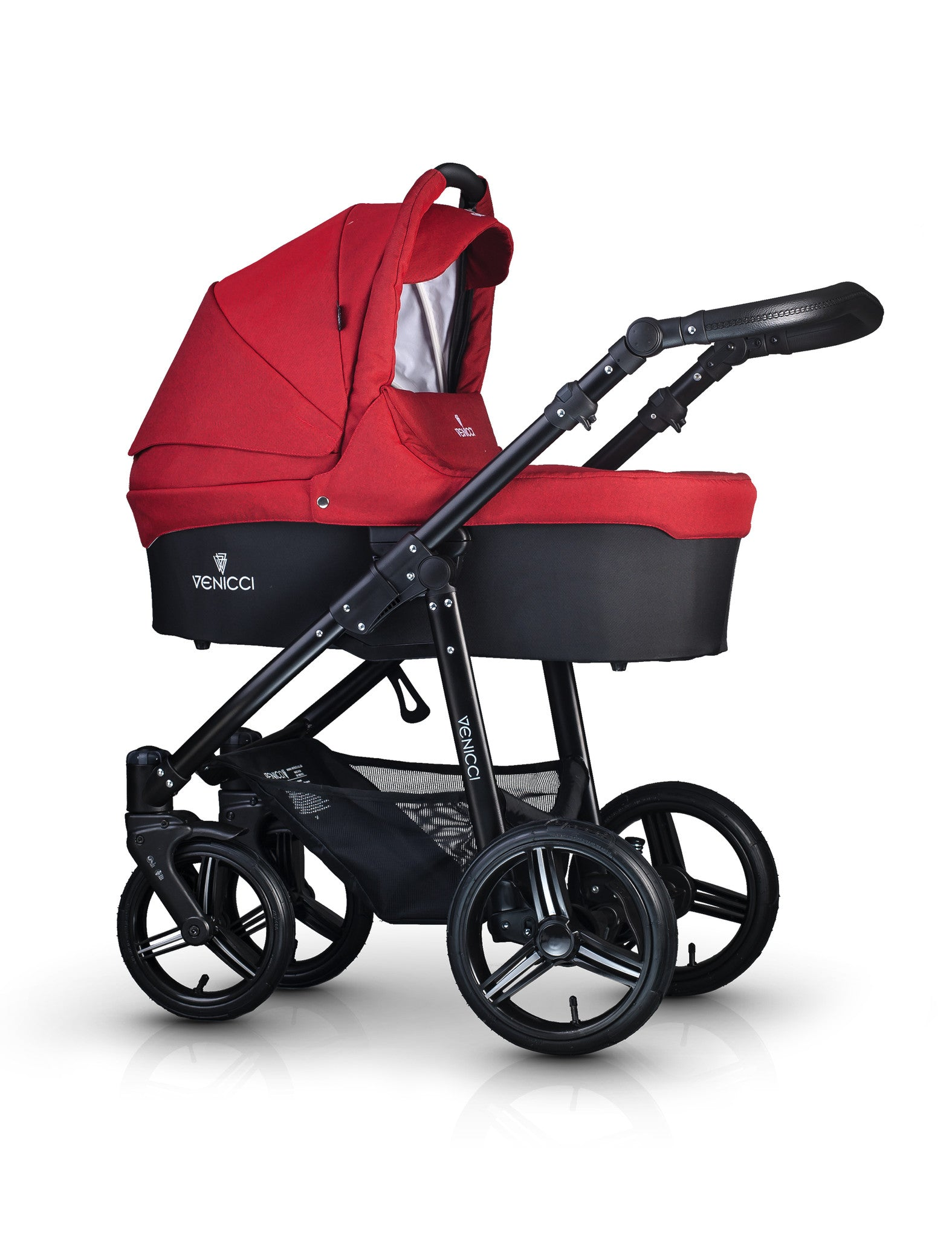 ** New Colour ** Venicci Travel System - Denim Red - Baby Gosling