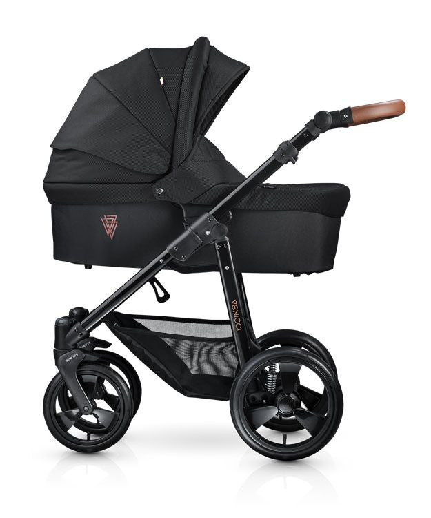 Venicci Gusto Full Travel System- Black