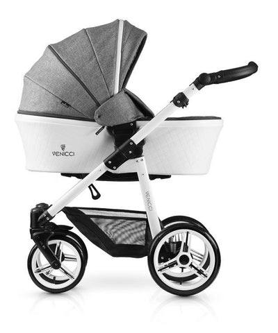 Venicci Pure Full Travel System- Denim Grey