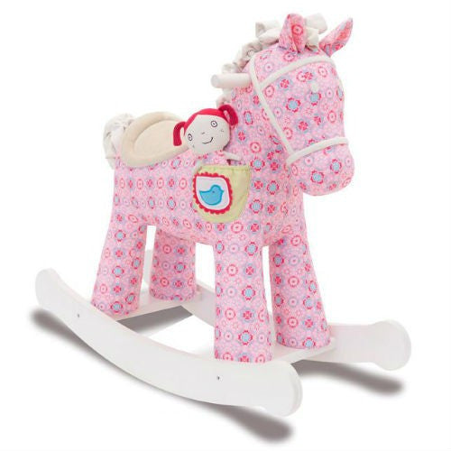 Little Bird Told Me Ruby & Belle Rocking Horse 12M+ - Baby Gosling  - 1