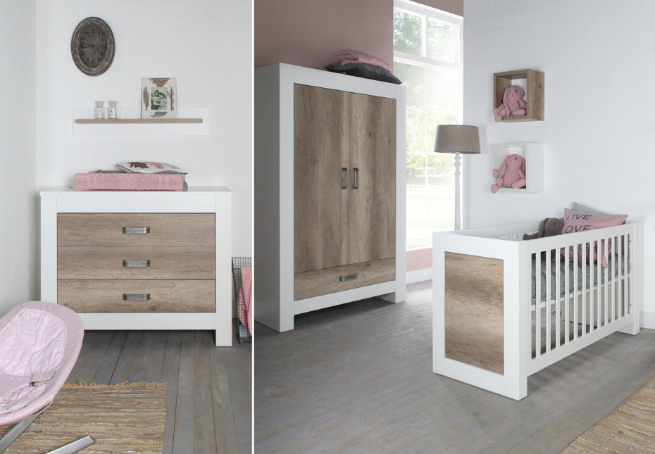 Kidsmill Costa 3pc Cot Room Set Includes FREE Delivery & Assembly! 6-8 weeks delivery - Baby Gosling  - 1