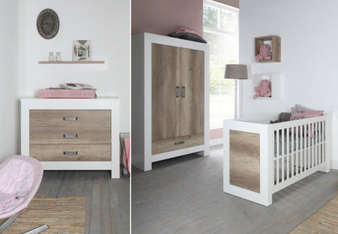 Kidsmill Costa 3pc Cot Room Set Includes FREE Delivery & Assembly! 6-8 weeks delivery