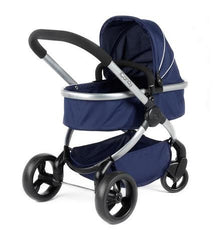 iCandy Mi peach Toy Pushchair Royal Blue with changing bag and blanket - Baby Gosling  - 1