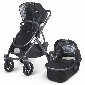 Uppababy VISTA Pram + Cabrio Car Seat and 2 wayfix base - Jake (2015)