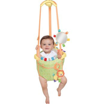 Taggies Safari  Deluxe Door Bouncer - Baby Gosling