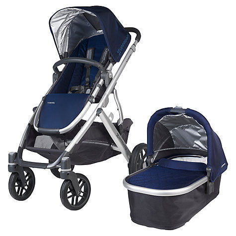 Uppababy VISTA Pram + Cabrio Car Seat and 2 wayfix base - Taylor (2015) Pre Order April - Baby Gosling  - 1