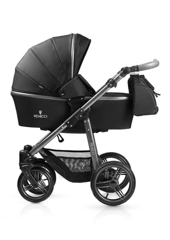 New! Venicci Carbo Black Travel System