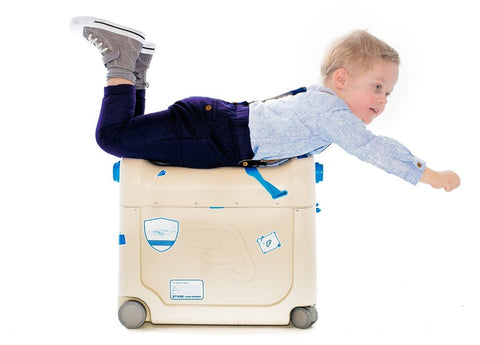 Jetkids BedBox Ride-On Suitcase - RED Jet Kids